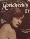 Virginia Valli on the cover of Movie Weekly (United Kingdom) - May 1924