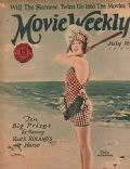 Della Peterson on the cover of Movie Weekly (United Kingdom) - July 1925