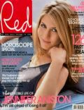 Jennifer Aniston on the cover of Red (United States) - January 2003
