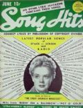 Alice Faye on the cover of Song Hits (United States) - June 1941