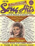 Rita Hayworth on the cover of Song Hits (United States) - April 1945