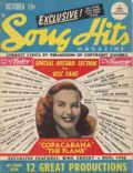 Deanna Durbin on the cover of Song Hits (United States) - October 1947