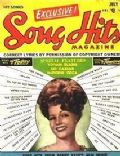 Rita Hayworth on the cover of Song Hits (United States) - July 1951