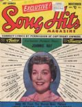 Jane Wyman on the cover of Song Hits (United States) - November 1952
