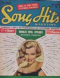Marilyn Monroe on the cover of Song Hits (United States) - November 1953