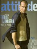 Fredrik Ljungberg on the cover of Attitude (United Kingdom) - April 2006