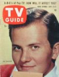 Pat Boone on the cover of TV Guide (United States) - September 1957