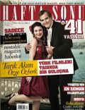 Özge Özberk, Tarik Akan on the cover of Haftasonu (Turkey) - March 2008