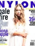 Fiona Apple on the cover of Nylon (United States) - November 2005