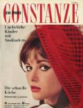 Claudia Cardinale on the cover of Constanze (Germany) - November 1962
