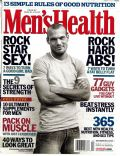 Fredrik Ljungberg on the cover of Mens Health (United States) - December 2003