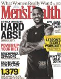 LeBron James on the cover of Mens Health (United States) - November 2007