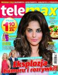 Weronika Rosati on the cover of Tele Max (Poland) - July 2012