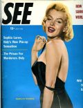 Marilyn Monroe on the cover of See (United States) - July 1955