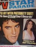 Elvis Presley on the cover of TV Star Parade (United States) - December 1970
