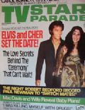 Elvis Presley on the cover of TV Star Parade (United States) - September 1975