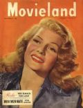 Rita Hayworth on the cover of Movieland (United States) - September 1948