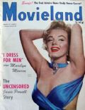 Marilyn Monroe on the cover of Movieland (United States) - July 1952