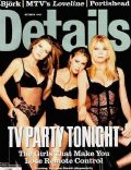 Alyssa Milano, Peta Wilson, Yasmine Bleeth on the cover of Entrevue (Belgium) - April 1998