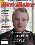 Philip Seymour Hoffman on the cover of Moviemaker (United States) - December 2003