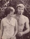 Pete Duel and Kim Darby
