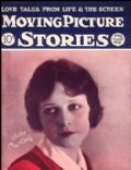 June Marlowe on the cover of Moving Picture Stories (United States) - June 1925