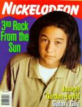 Joseph Gordon-Levitt on the cover of Nickelodeon (United States) - February 1997