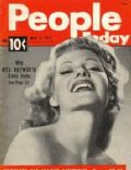 Rita Hayworth on the cover of People Today (United States) - May 1951