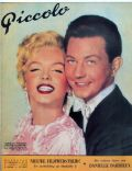 Marilyn Monroe on the cover of Piccolo (Belgium) - April 1955