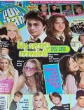 Emma Watson on the cover of Popstar (United States) - July 2004
