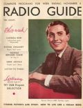 Tyrone Power on the cover of Radio Guide (United States) - November 1937