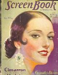 Lupe Velez on the cover of Screen Book (United States) - April 1931