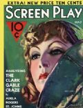 Greta Garbo on the cover of Screen Play (United States) - May 1932