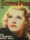 Lilian Harvey on the cover of Screen Play (United States) - June 1934