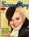 Alice Faye on the cover of Screen Play (United States) - January 1935
