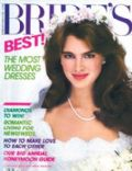 Brooke Shields on the cover of Brides (United States) - February 1983