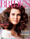 Carol Alt on the cover of Brides (United States) - February 1984