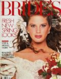 Rachel Hunter on the cover of Brides (United States) - December 1987