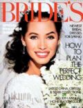 Christy Turlington on the cover of Brides (United States) - February 1988