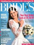 Heidi Klum on the cover of Brides (United States) - June 1994