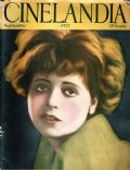 Clara Bow on the cover of Cinelandia (Argentina) - September 1927