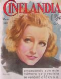 Greta Garbo on the cover of Cinelandia (Argentina) - March 1932