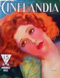 Clara Bow on the cover of Cinelandia (Argentina) - February 1933