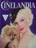 Sari Maritza on the cover of Cinelandia (Argentina) - June 1933