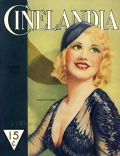 Ginger Rogers on the cover of Cinelandia (Argentina) - August 1933