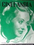 Bette Davis on the cover of Cinelandia (Argentina) - December 1936