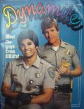 Erik Estrada, Larry Wilcox on the cover of Dynamite (United States) - 1979