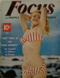 Marilyn Monroe on the cover of Focus (United States) - December 1952