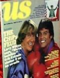 Erik Estrada, Larry Wilcox on the cover of Us Magazine (United States) - September 1980