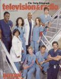 Chandra Wilson, Ellen Pompeo, Ellen Pompeo and Patrick Dempsey, Isaiah Washington, Isaiah Washington and Sandra Oh, James Pickens Jr., Justin Chambers, Katherine Heigl, Katherine Heigl and Justin Chambers, Katherine Heigl and T.R. Knight, Patrick Dempsey, Sandra Oh, T.R. Knight on the cover of The Daily Telegraph (United States) - August 2005